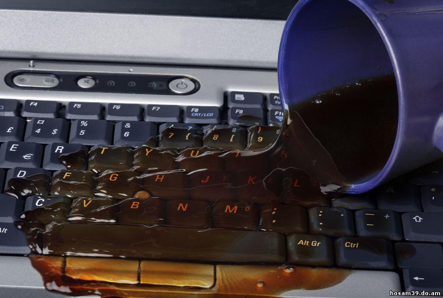 Laptop Spillage